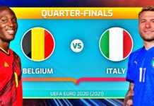BELGIA - ITALIA PRO TV LIVE EURO 2020