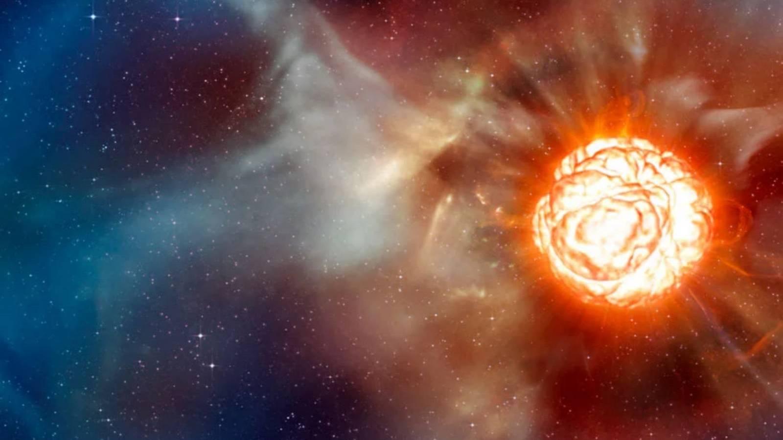 Calea Lactee hipernova