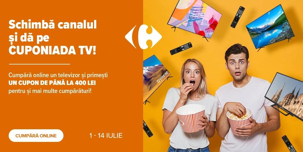 Carrefour cupoane televizoare