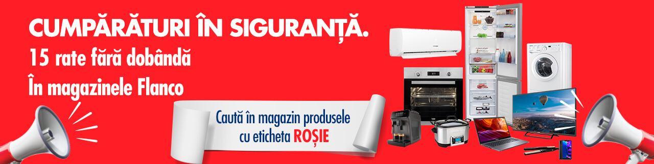 Electrocasnice Flanco EXTRA Reducere bulina rosie