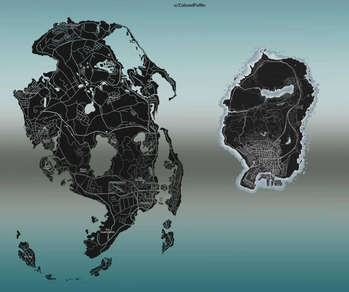 GTA 6 intermediar harta