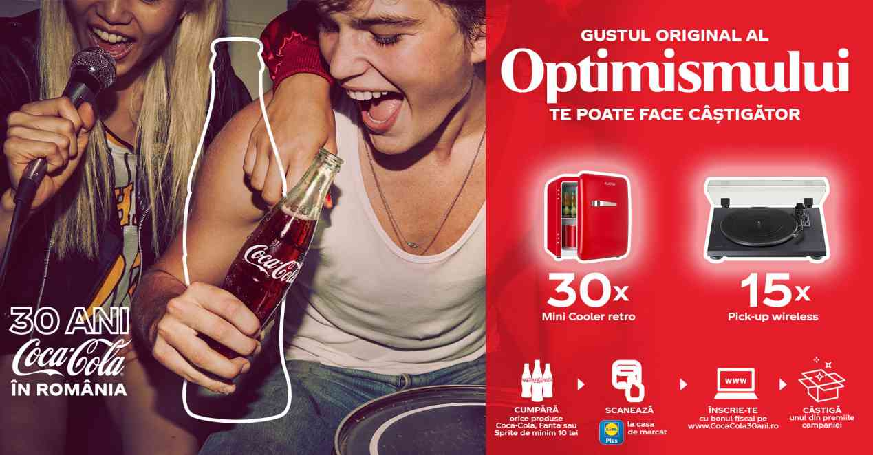 LIDL Romania Coca Cola Premii