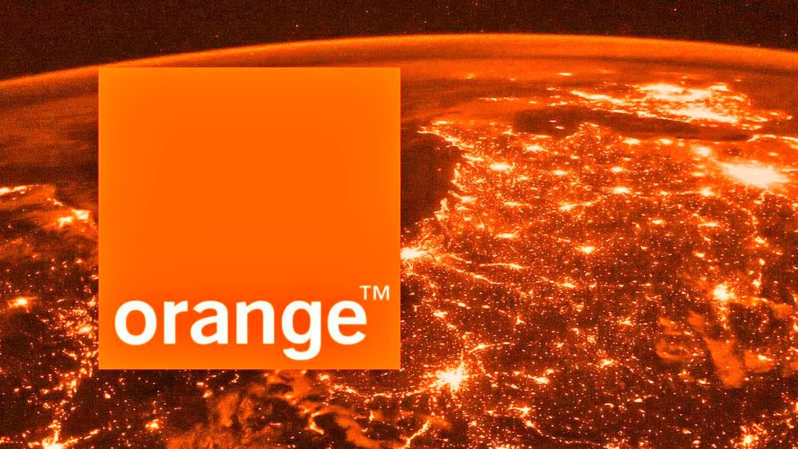 Orange treime