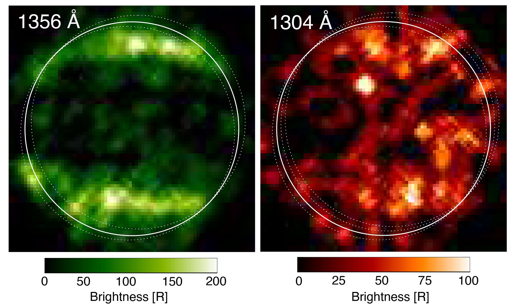 Planeta Jupiter vapori apa