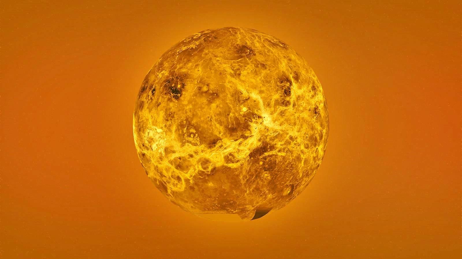 Planeta Venus fosfor