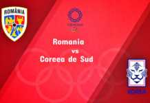 ROMANIA - COREEA DE SUD LIVE TVR 1 JOCURILE OLIMPICE