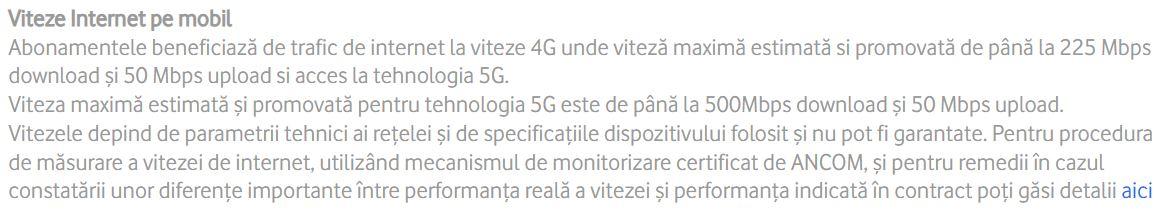 Vodafone scadere 5G
