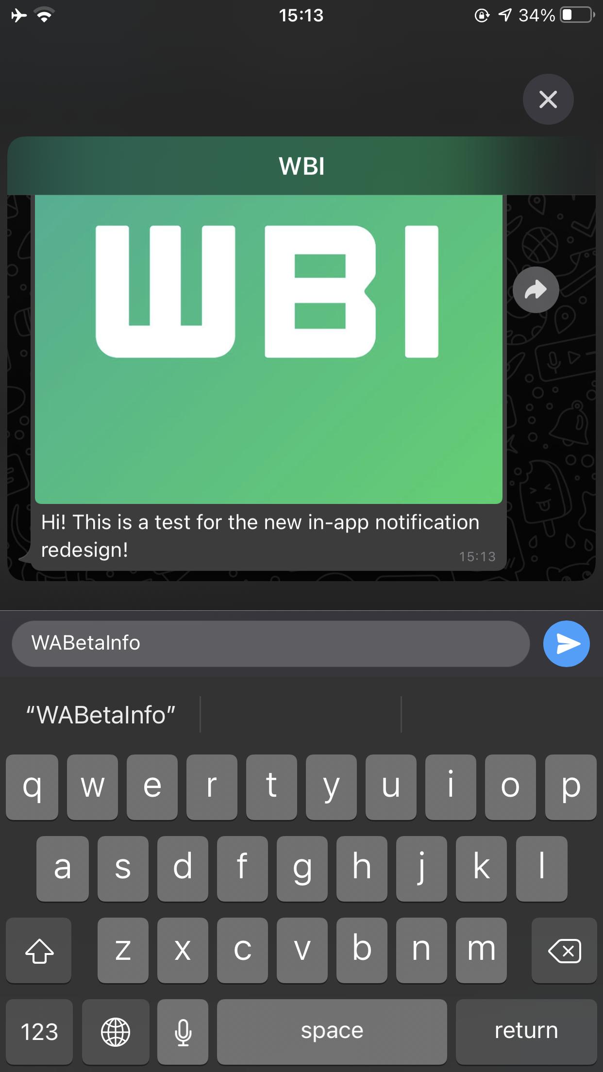 whatsapp intern