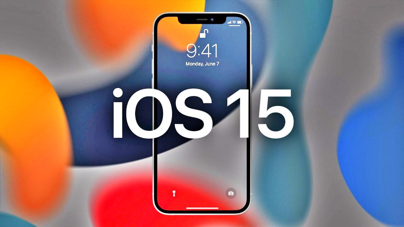 iOS 15 restrictionari