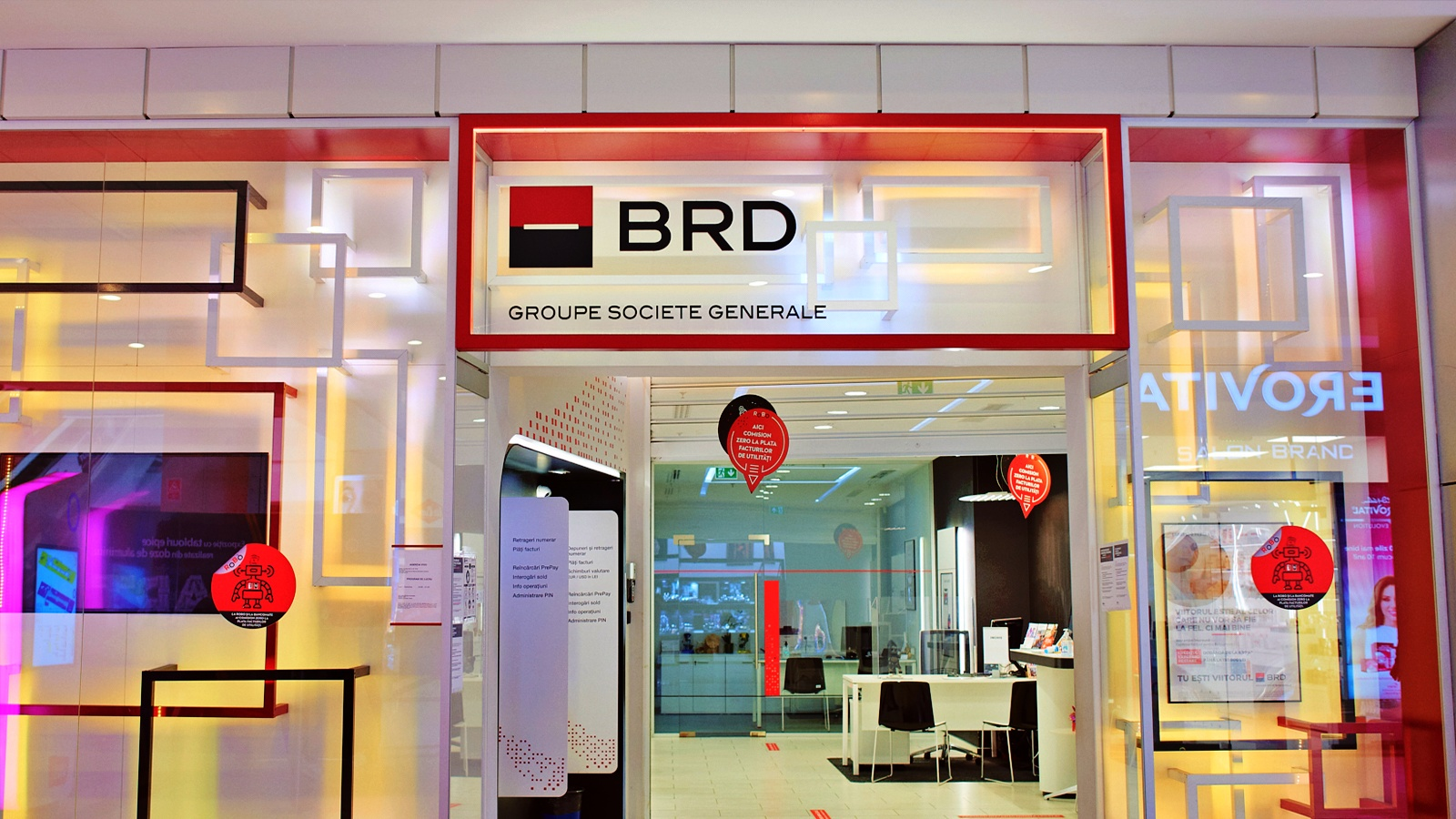 BRD Romania retinere
