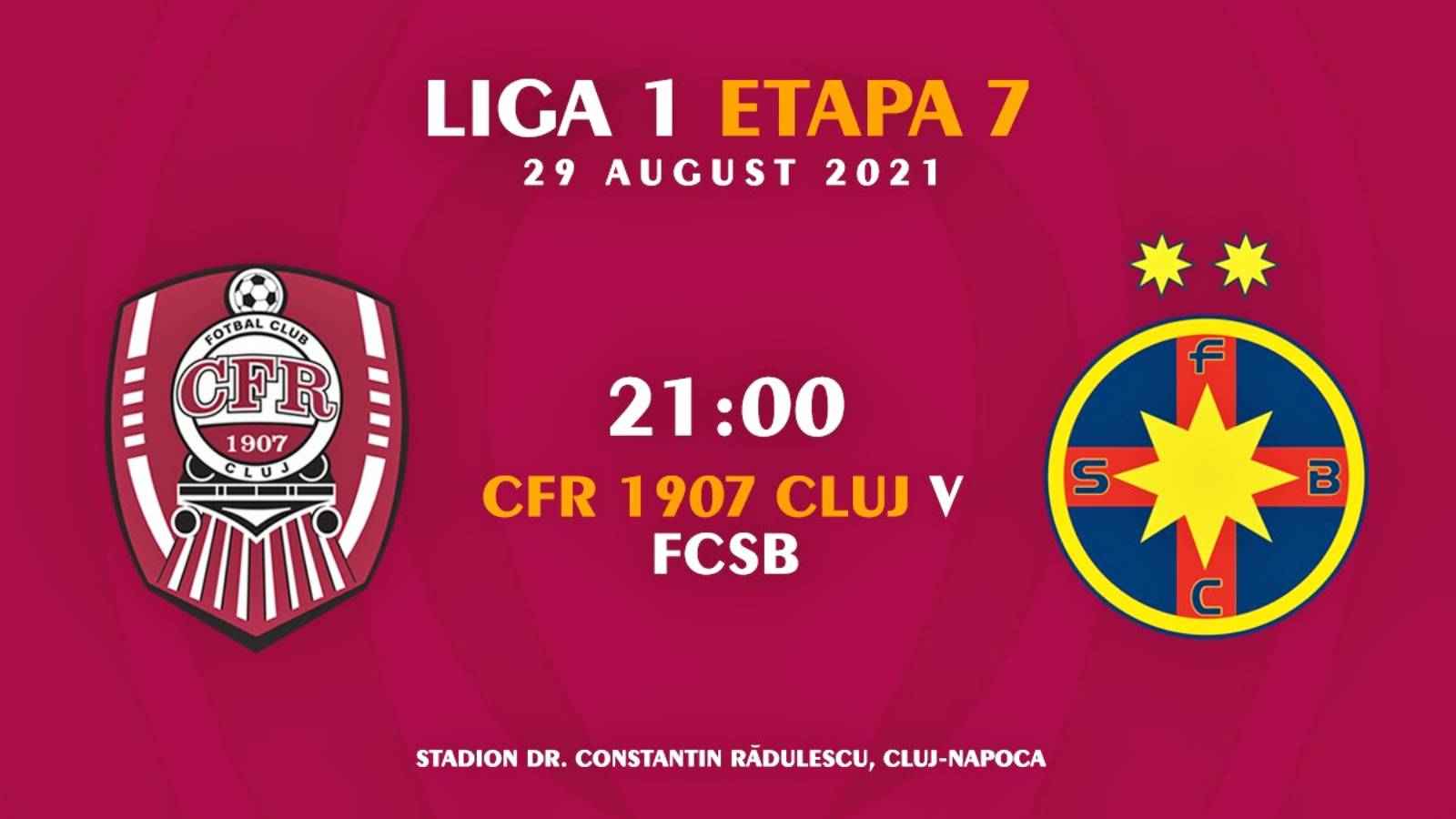 CFR CLUJ - FCSB LIVE DIGI SPORT 1