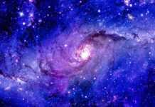 Calea Lactee radioactiv