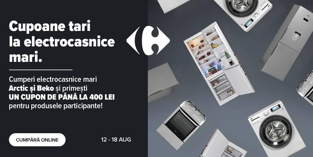 Carrefour cupon electrocasnice