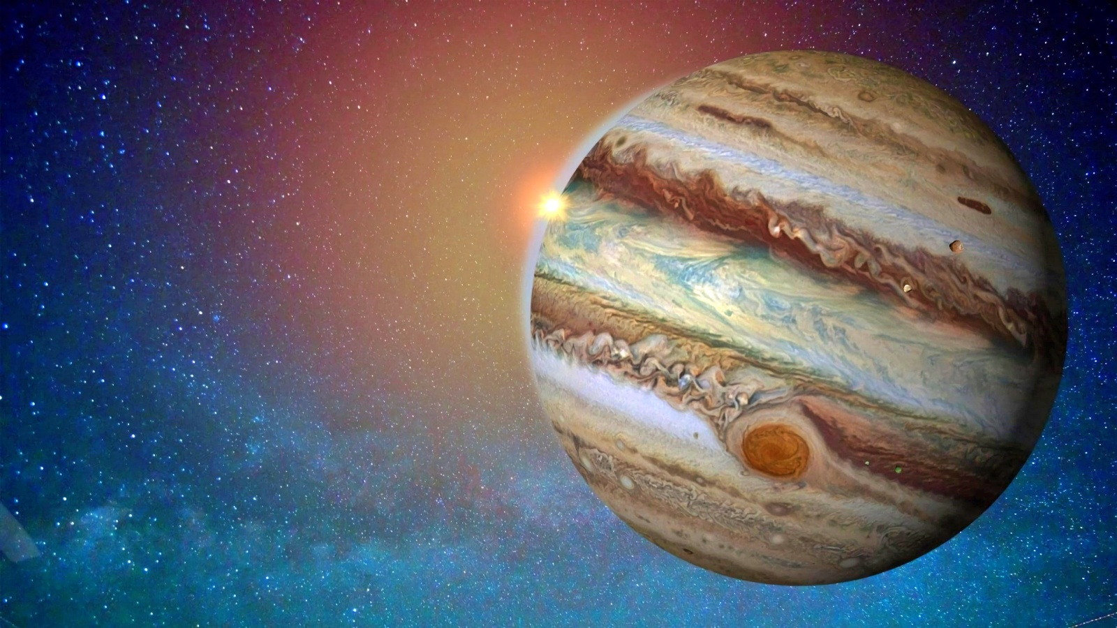 Planeta Jupiter opusa