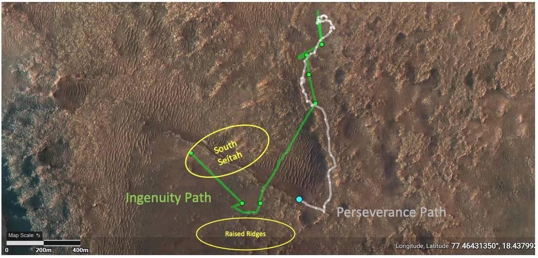 Planeta Marte riscuri seitah