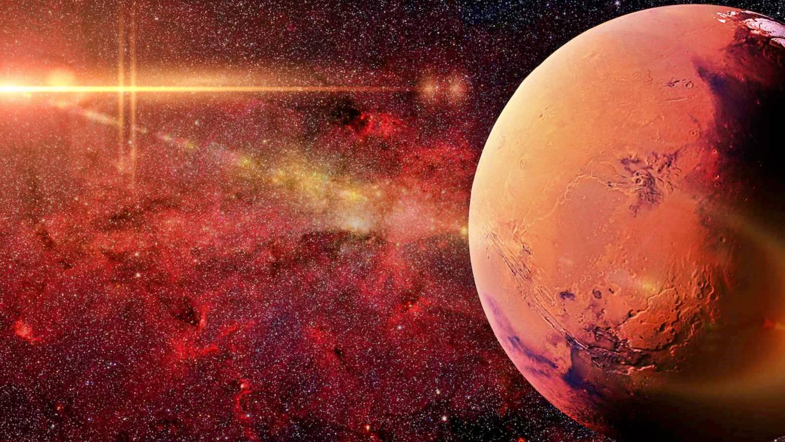 Planeta Marte riscuri