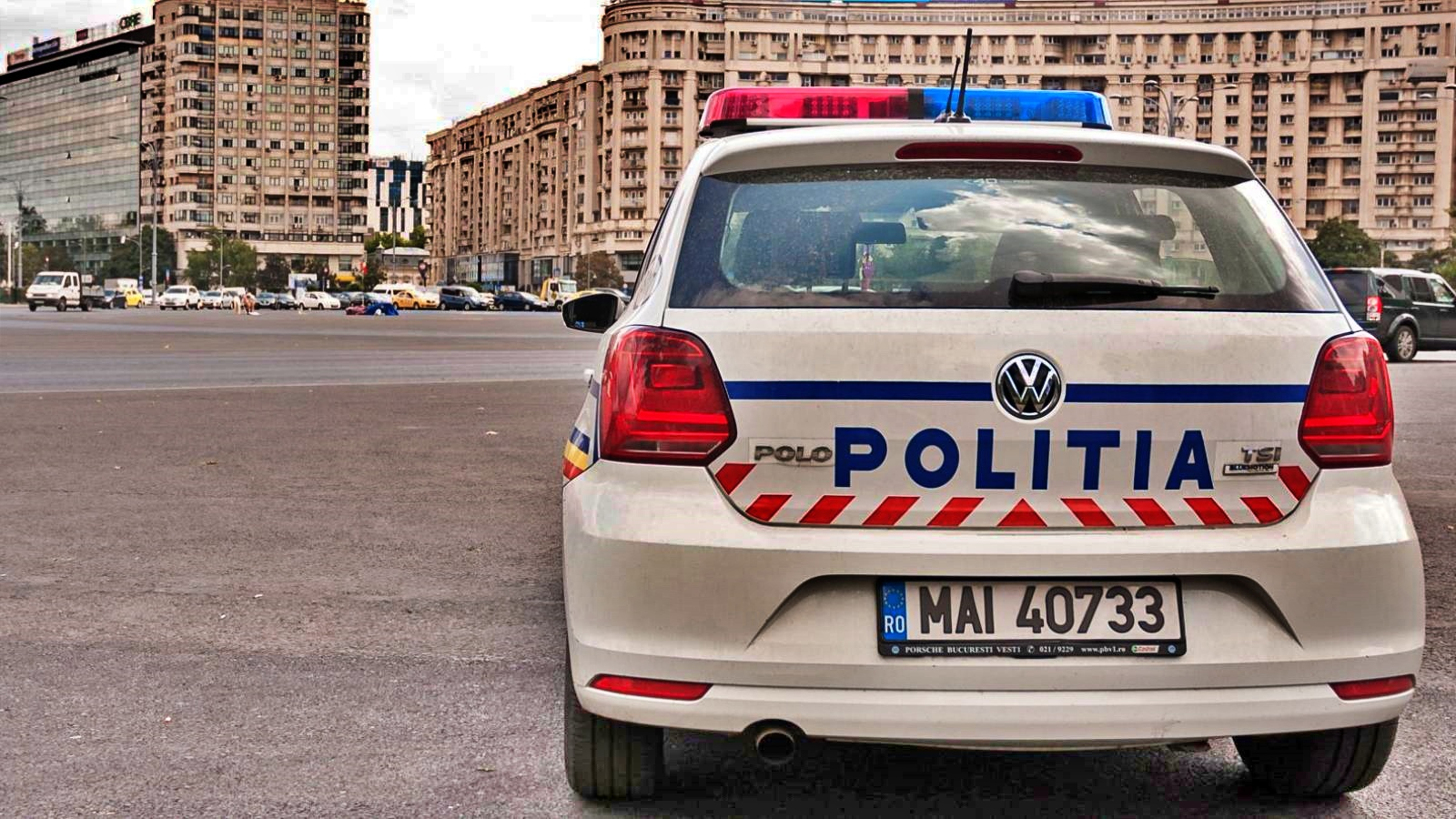 Politia Romana Mesaj Atentionare Pasagerii Masini