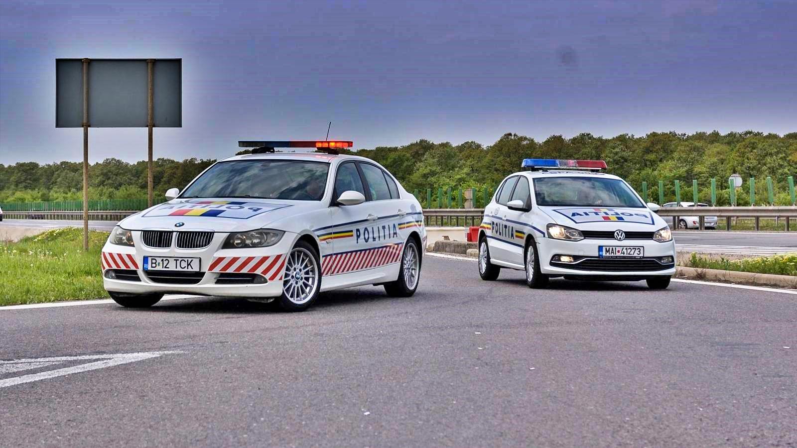Politia Romana viteza 288 km h