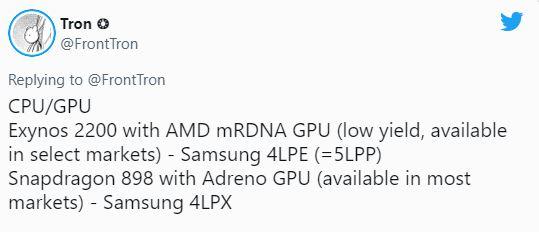 Samsung GALAXY S22 Secretele Ecrane Procesoare AMD