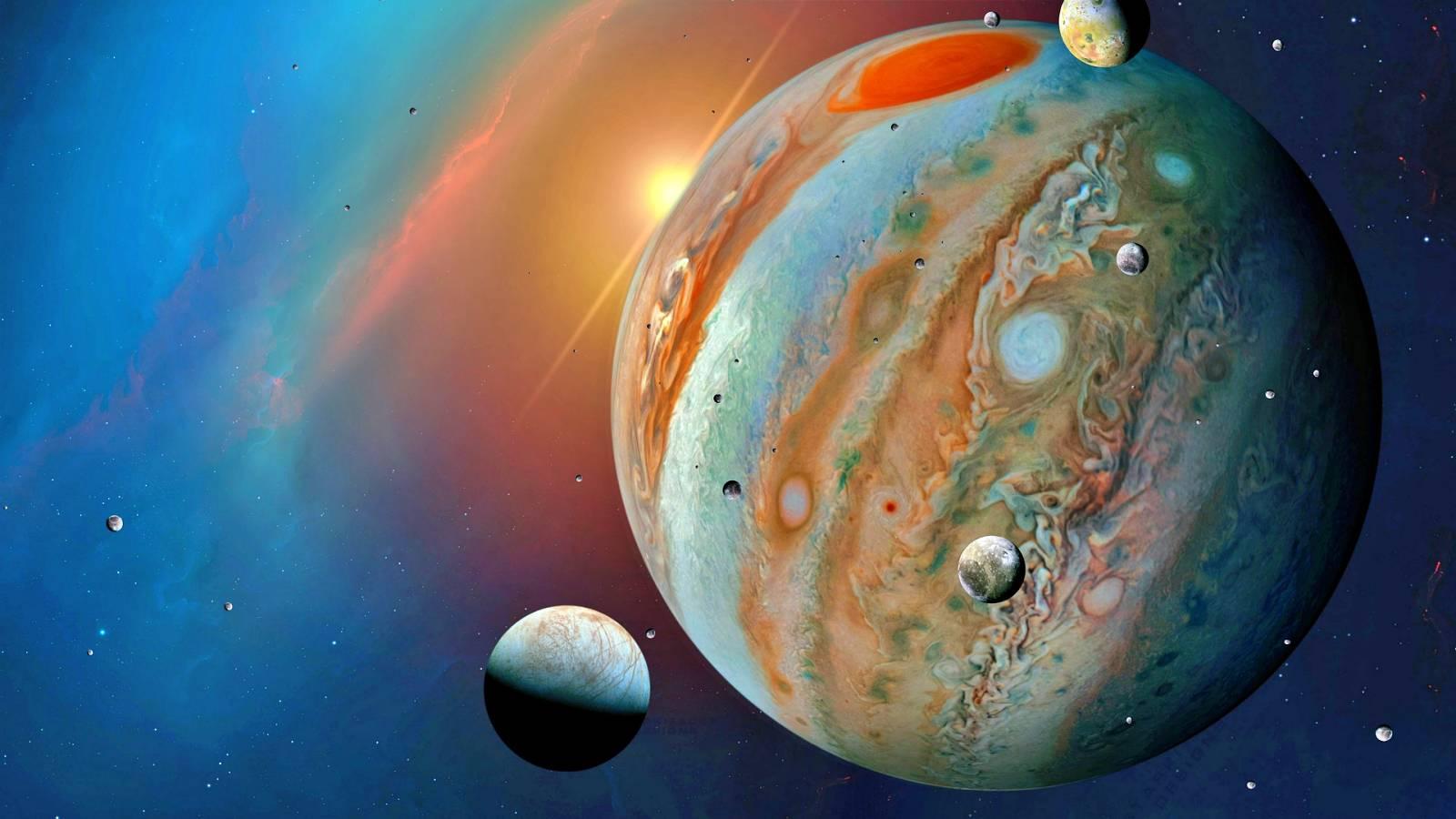 Planeta Jupiter disipare