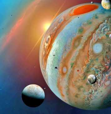 Planeta Jupiter electric