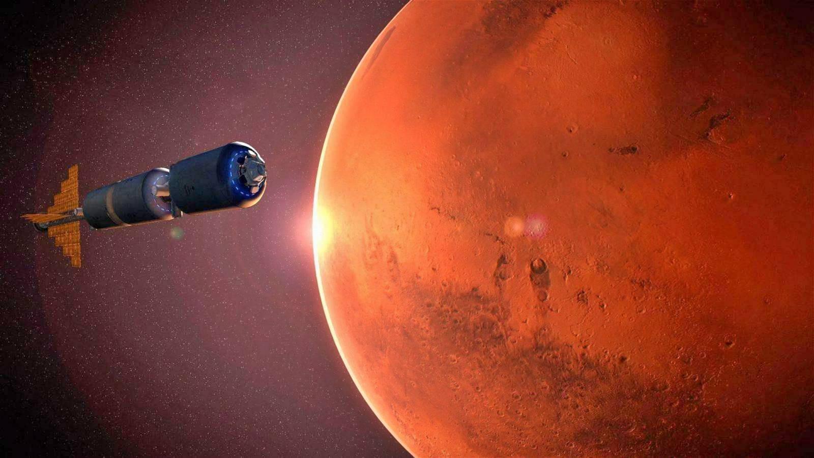 Planeta Marte intoarcere