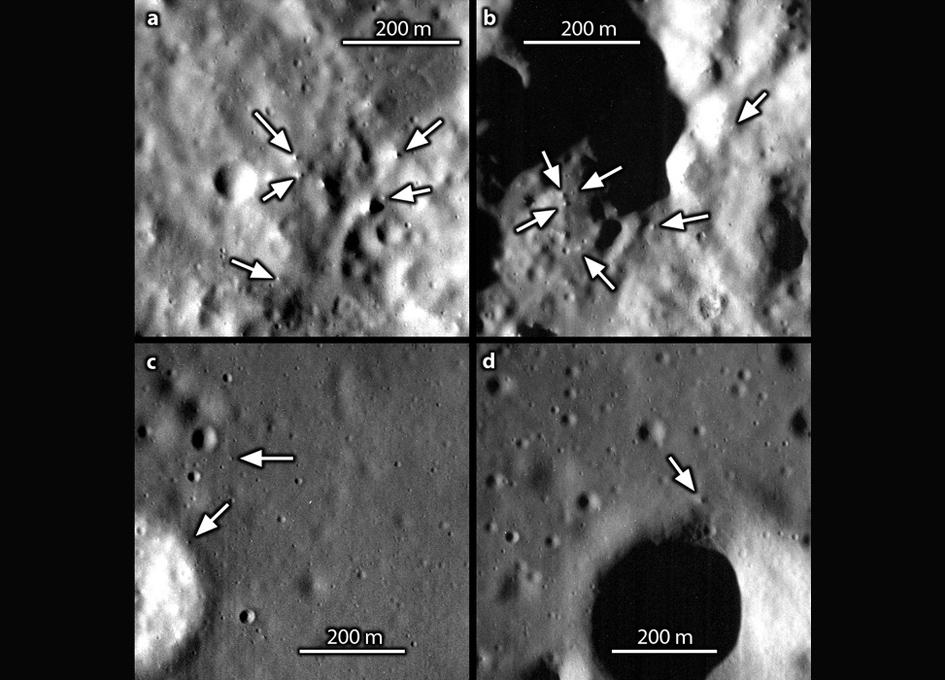 Planeta Mercur roci dimensiuni