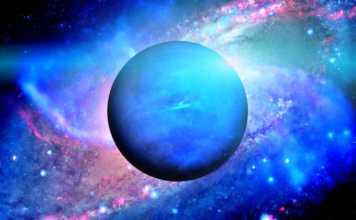 Planeta Neptun orbita