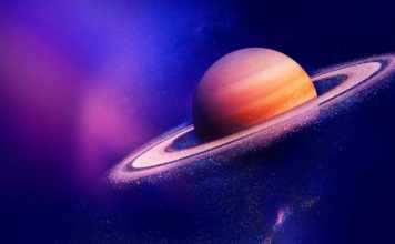 Planeta Saturn detectare