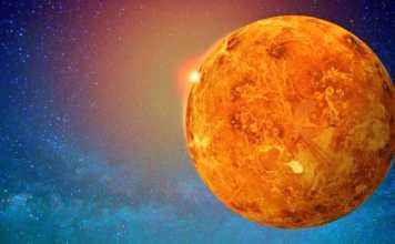 Planeta Venus eruptii