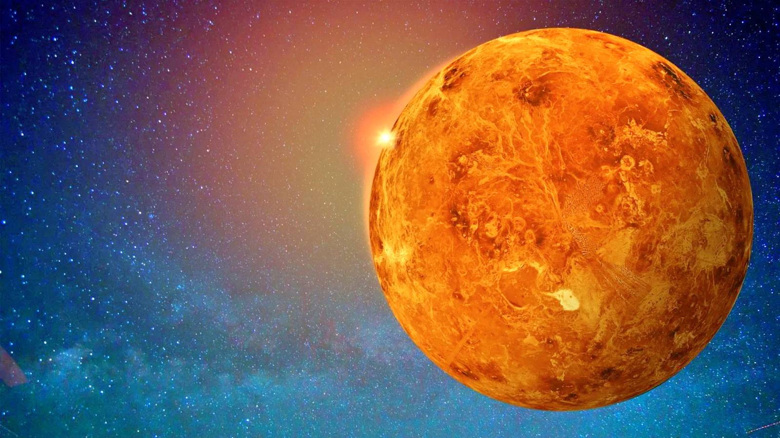 Planeta Venus scut