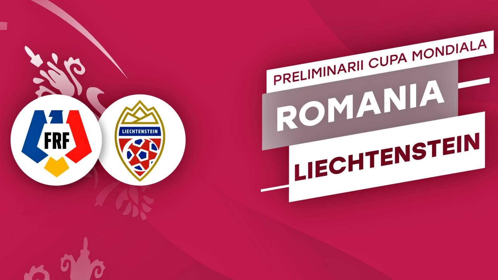 ROMANIA - LIECHTENSTEIN PRO TV LIVE