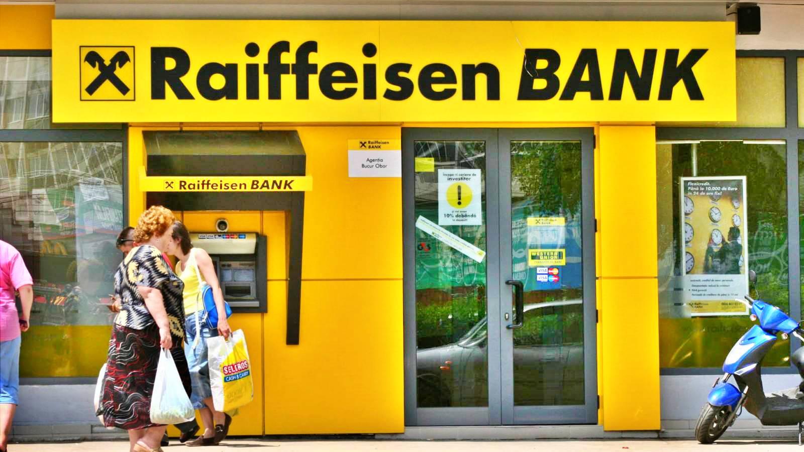 Raiffeisen Bank vacanta