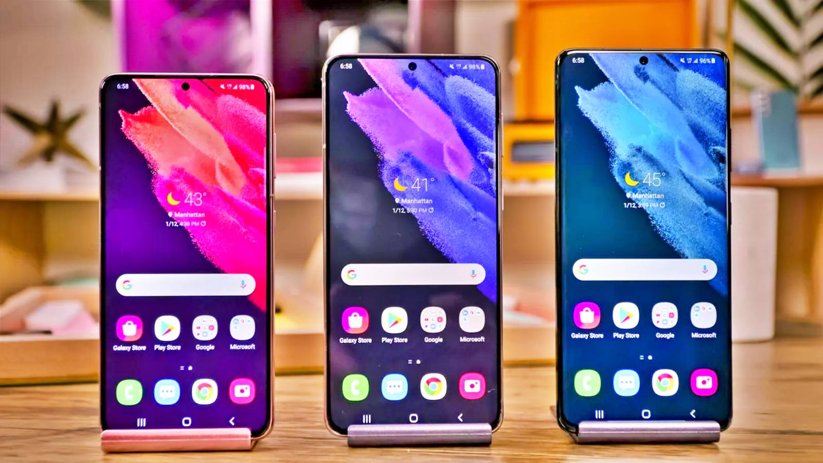 Samsung GALAXY S21 eMAG Reducerile MII LEI Astazi