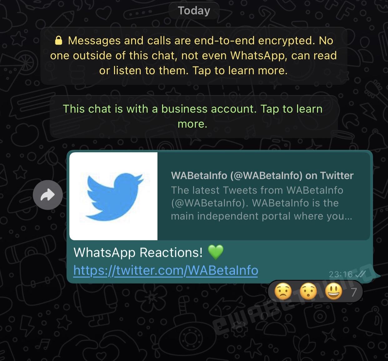 WhatsApp replica mesaje