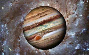 Planeta Jupiter rotatie