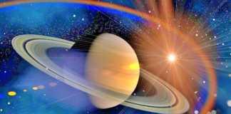 Planeta Saturn plimbare