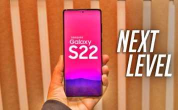 Samsung GALAXY S22 impresionant