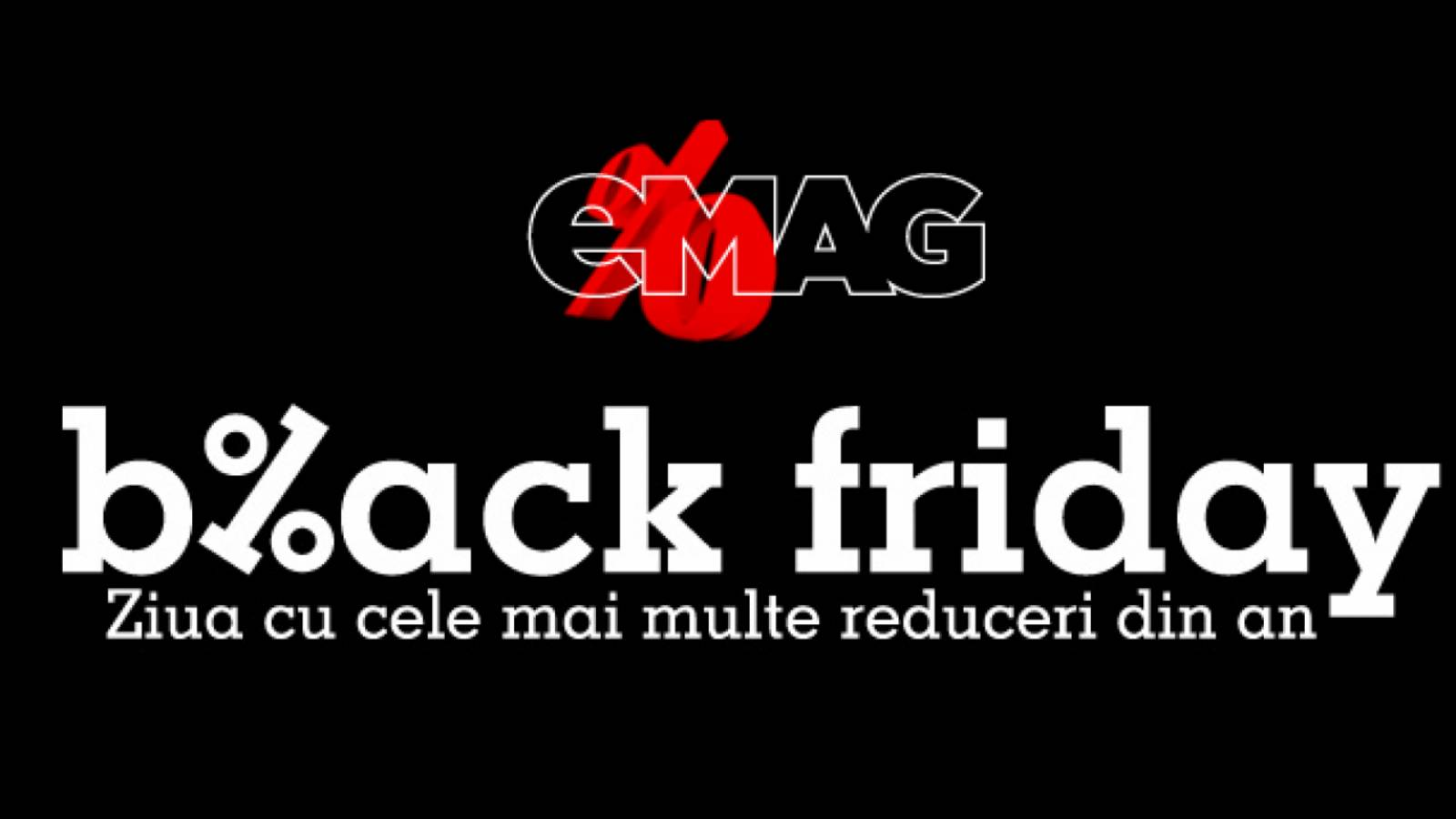 eMAG Black Friday 2021 12 Noiembrie Romania